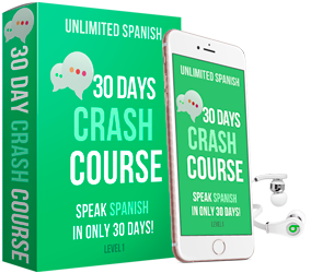 30 day crash Spanish course