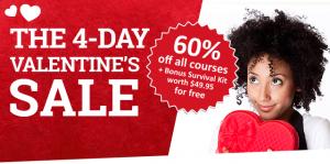 Rocket Spanish discount code Valentines